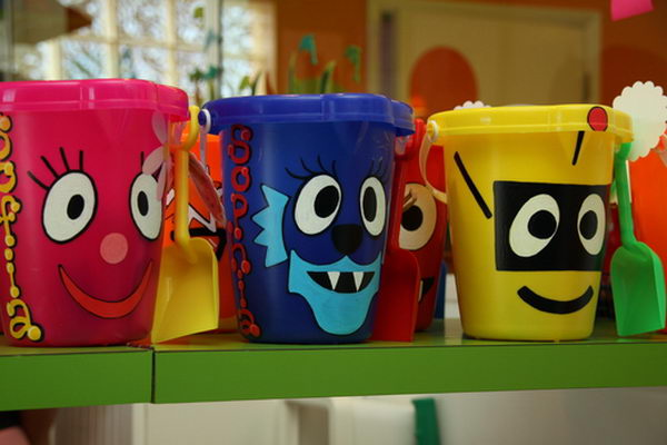 What's great about Yo Gabba Gabba as a party theme is that it can work for a girl or a boy, it's got a wonderful color pallet, and there's awesome music.