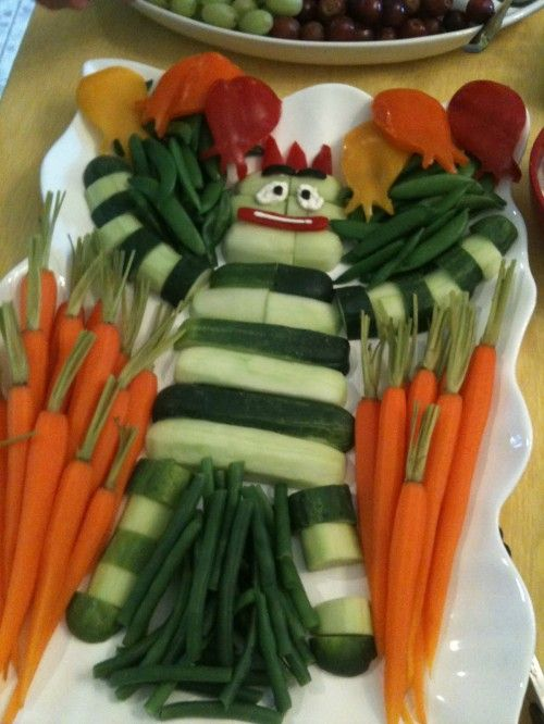 Yo Gabba Gabba Food Art.