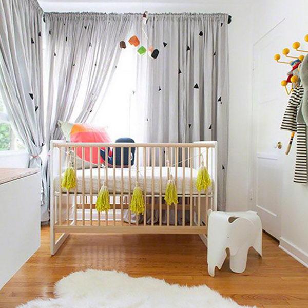 Modern Baby Nursery.