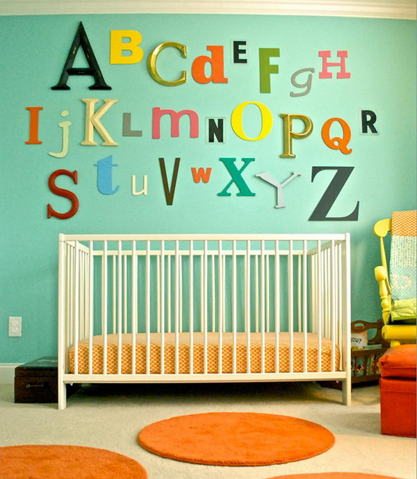ABC Wall Art Nursery.