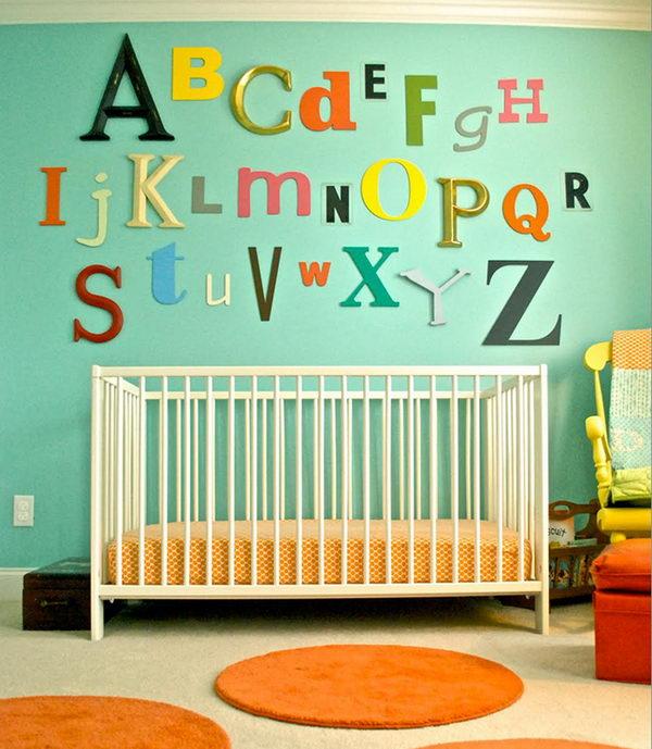 ABC Wall Art Nursery.