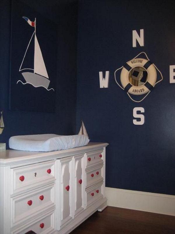 Nautical Nursery.
