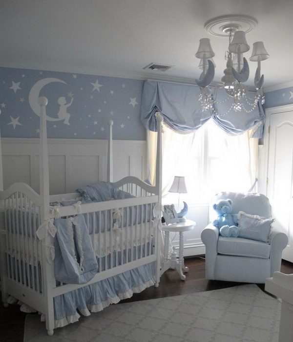 20 Beautiful Baby Boy Nursery Room Design Ideas Full Of: 20 Cute Nursery Decorating Ideas 2017