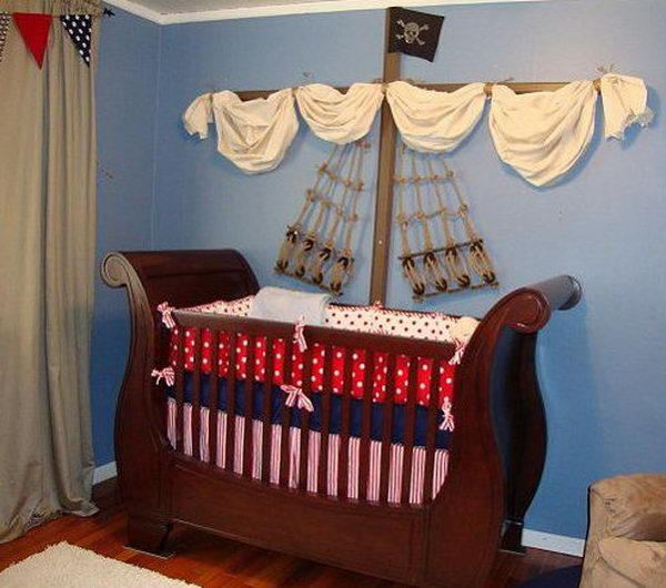 Pirate Ship Nursery.