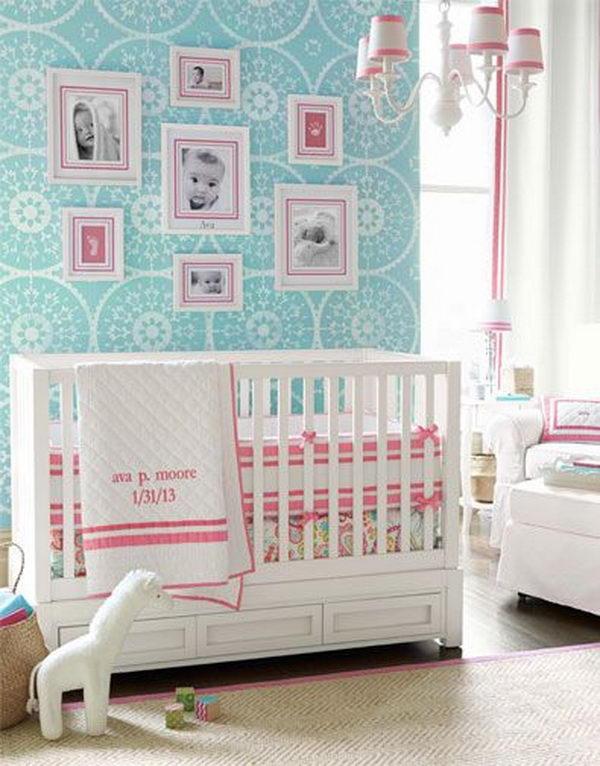Pink Nursery for Girls.