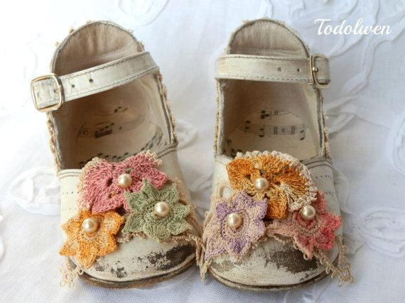 Little White Toddler Shoes.