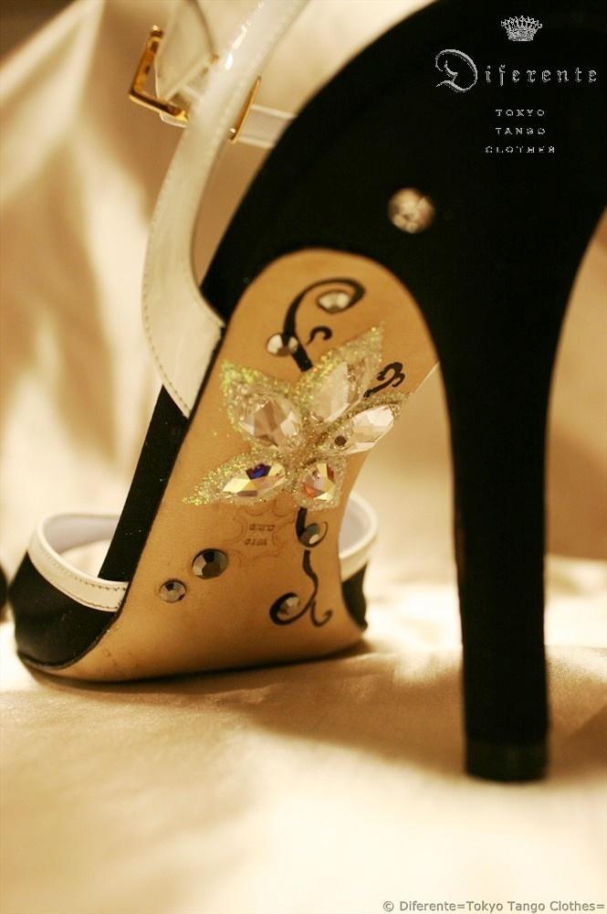 DIY Shoes Decorating Idea.
