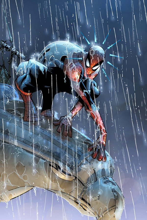 20 Cool Spiderman Drawings 2017