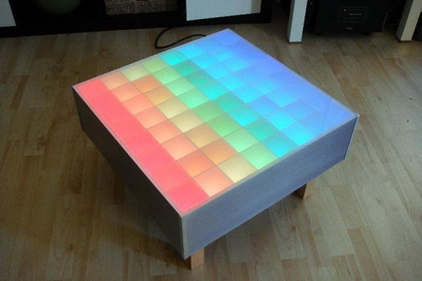 64 RBG LED Color Table.