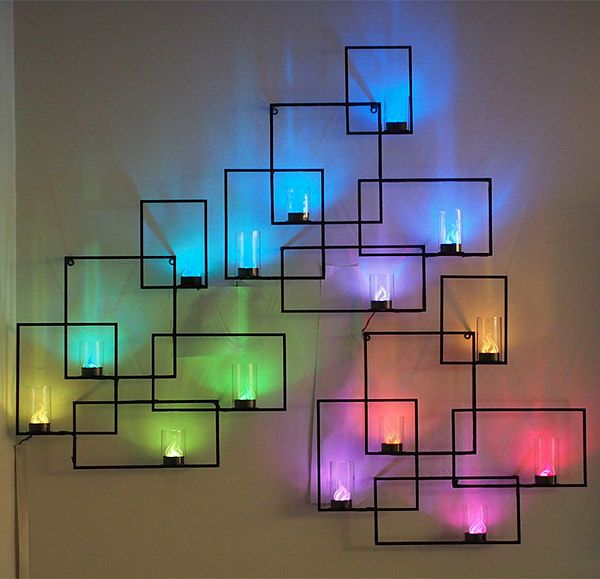 10 creative led lights decorating ideas 2017 - Creative design ideas for the home ...
