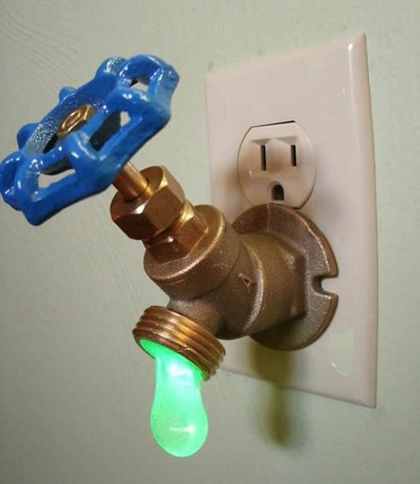Drippy Faucet Night Light.