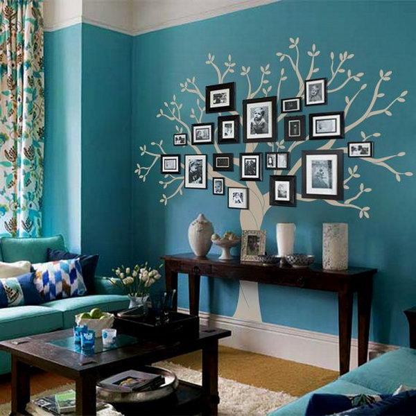 Family Tree Photo Wall Display.