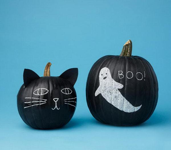Chalkboard Pumpkin.
