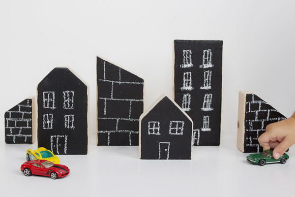 DIY City Blocks for Kids.