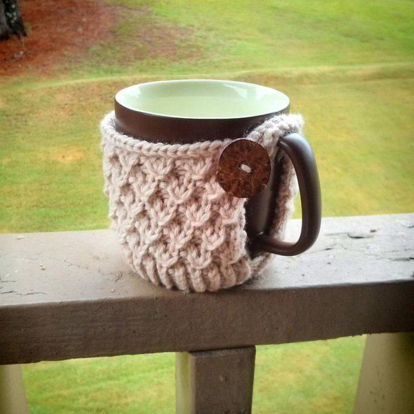 20 Cool Crochet Coffee Cozy Ideas Amp Tutorials 2017