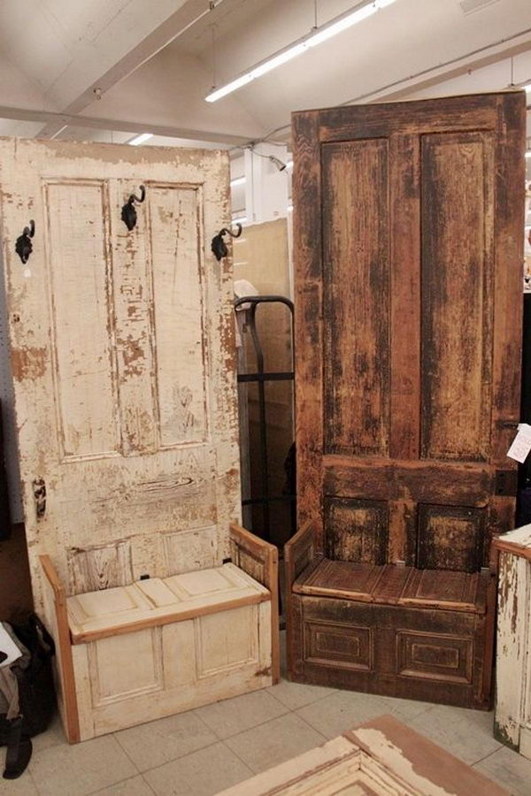 10 Creative Door Repurpose Ideas 2017