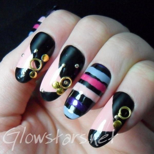 You're the Prince to My Ballerina, 3D nail art is a technique for decorating nails that creates three dimensional designs.