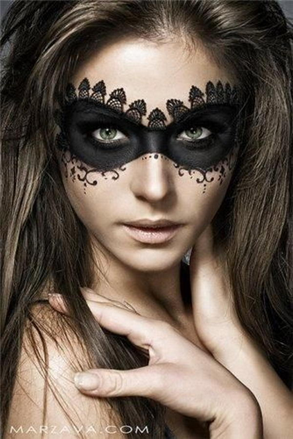 20 Cool Halloween Eye Makeup Ideas 2017 - Cool Makeup Halloween Ideas