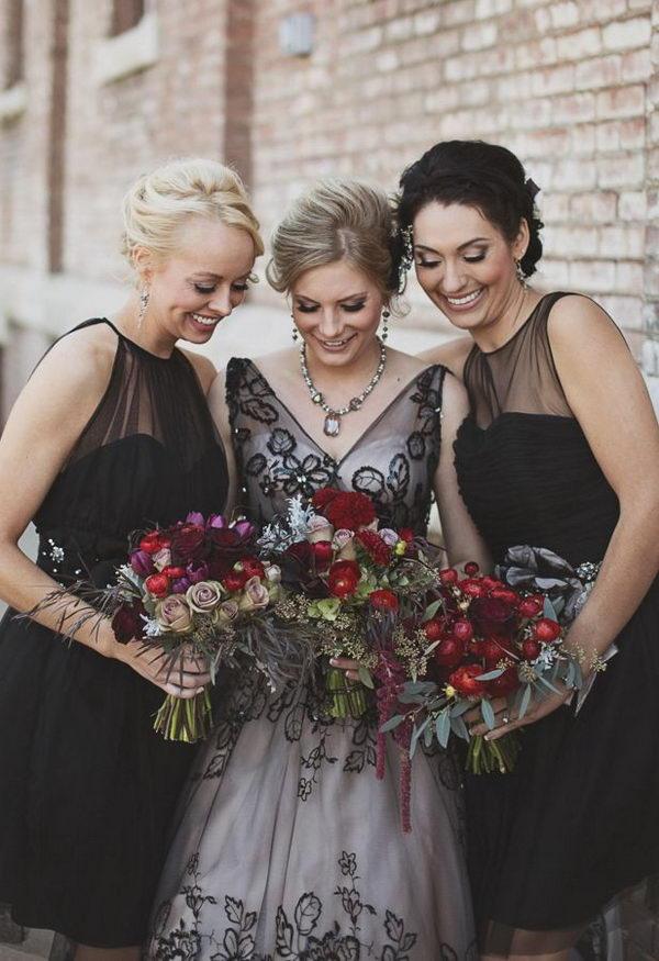 15 Cool Halloween Wedding Ideas 2017