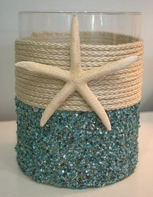 A Very Peaceful And Calm Sort Of Home Decorating Style. It Brings The Sea  And