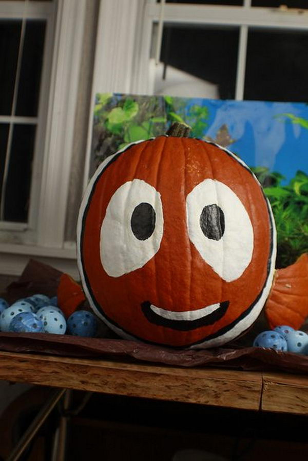 No carve pumpkin ideas for halloween decoration
