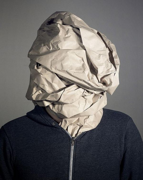 Special Costume Idea. There is no easier costume than a paper bag mask. Grab a paper bag and cut out holes for your eyes then grab a few markers and let your imagination go wild. They are so simple for kids to make and to wear.