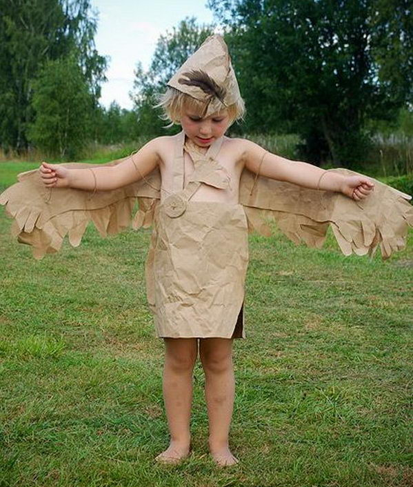 Here's what you need to make a paper bag princess costume of your own. Item's you need: Foam crown. Headband. Spray paint. Glue Gun. Tape. Paper or Paper bag.