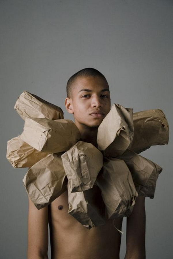 Paperbag Costume Idea. There is no easier costume than a paper bag mask. Grab a paper bag and cut out holes for your eyes then grab a few markers and let your imagination go wild. They are so simple for kids to make and to wear.