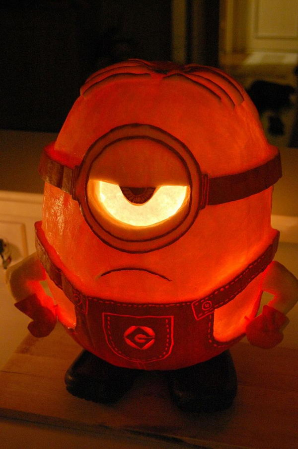 Minion-O-Lantern.