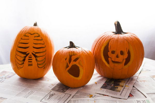 Anatomy Pumpkins.