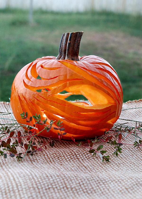 Abstract Pumpkin.