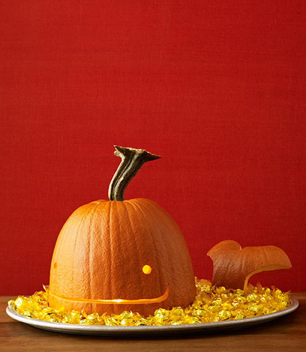 Whale Pumpkin.