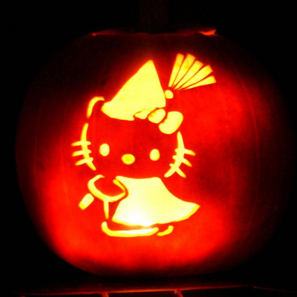 Hello Kitty Pumpkin.