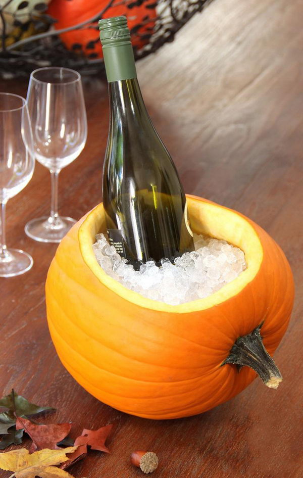 Wine Cooler Pumpkin.