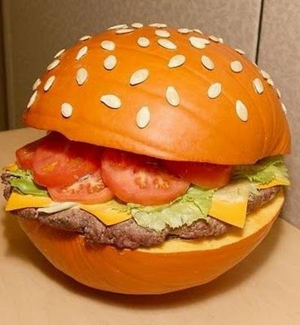 Pumpkin Burger.