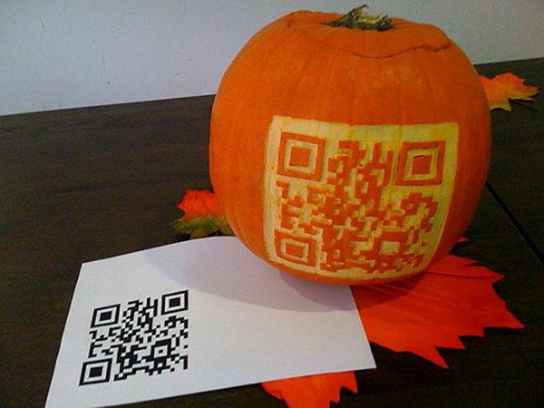 QR Code Pumpkin.