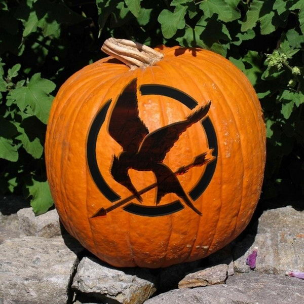 Mockingjay Pumpkin.
