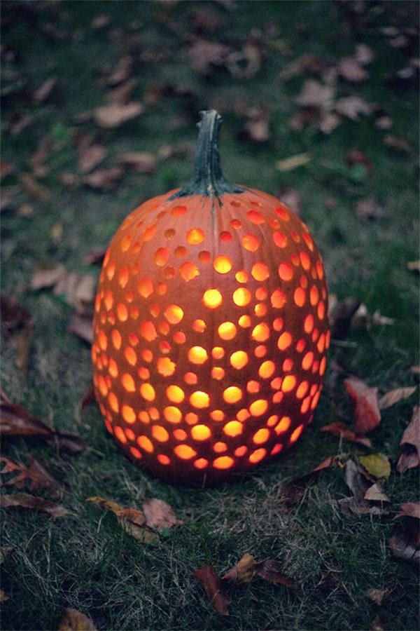 Drill Pumpkins.