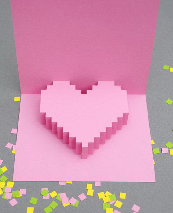 Creative Valentine Day Cards. If you want to give your lover something special for Valentine's Day, choose one of these cards for your sweetheart. It would surely be the most special one among all other options.