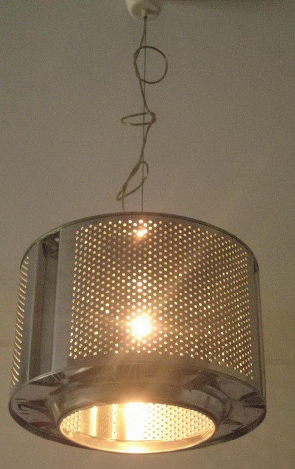 Washing Machine Drum Lamp.