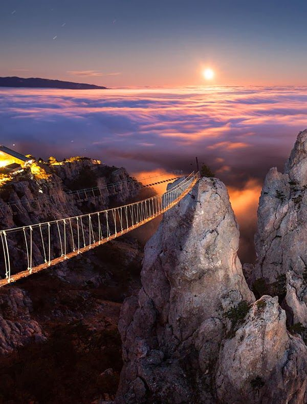 Mount Ai-Petri, Crimea, Ukraine.