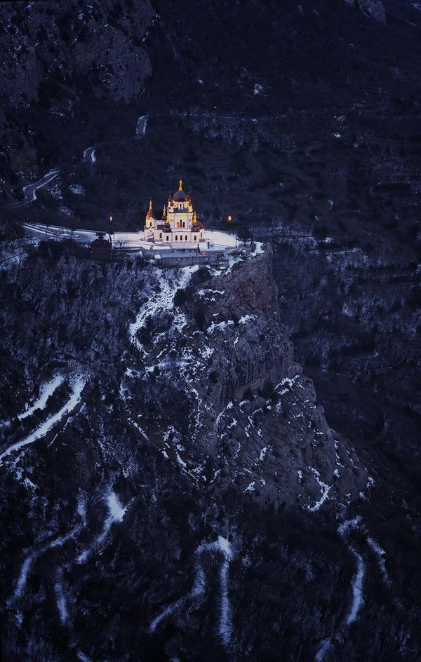 Foros Church, Yalta, Crimea, Ukraine.
