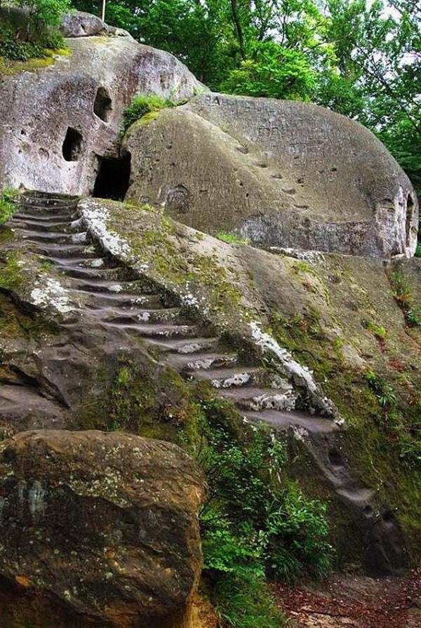 Stone Cloister, Rozgirche, Ukraine.