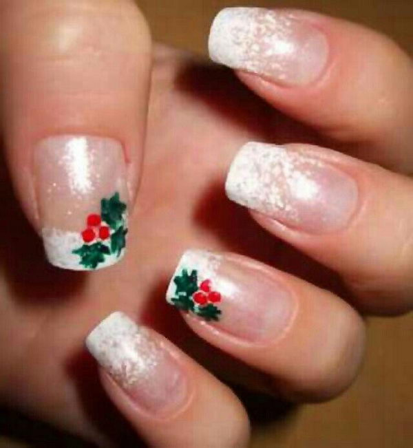 25 Cool Christmas Nail Designs 2017