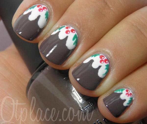25 Cool Christmas Nail Designs 2017
