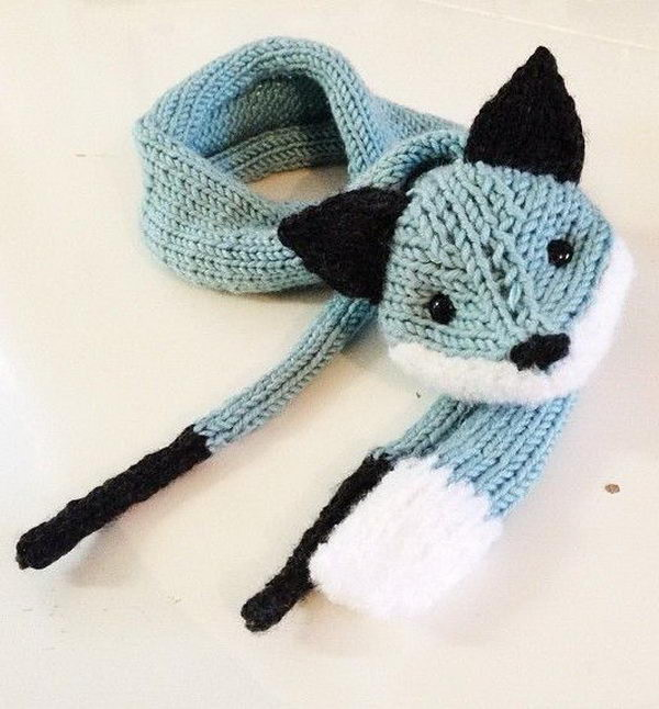 Knitted Fox. Cool Knitting Project Ideas