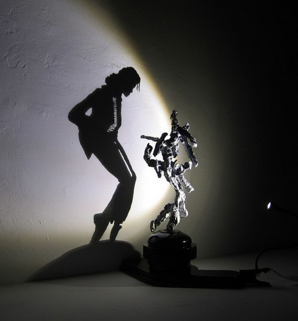 Dancing shadow artwork by diet wiegman. Shadow art is a unique form of sculptural art that creates patterns on a wall or canvas using shadows or silhouettes. It is a cool art activity at home to entertain your family and friends.