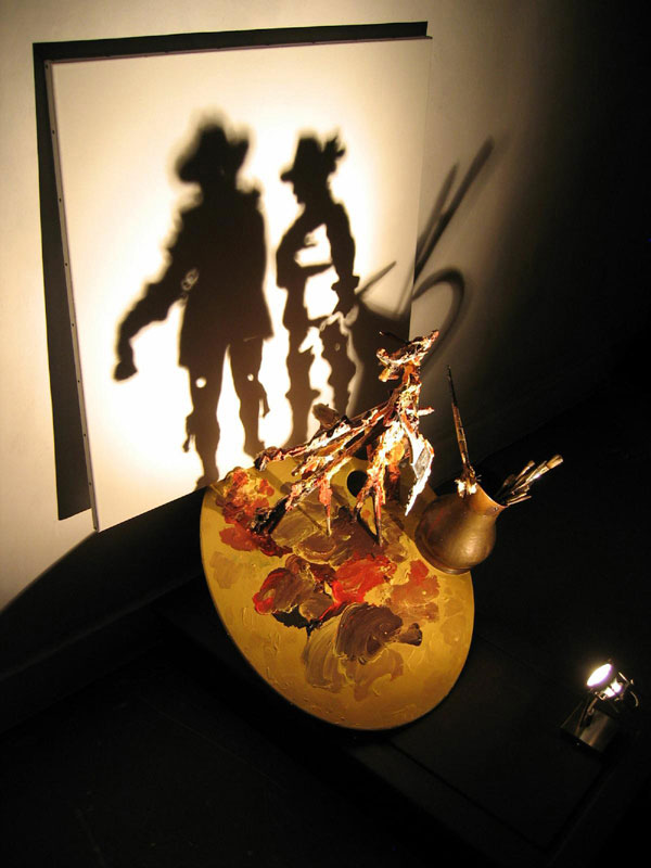 Shadow artwork by diet wiegman. Shadow art is a unique form of sculptural art that creates patterns on a wall or canvas using shadows or silhouettes. It is a cool art activity at home to entertain your family and friends.
