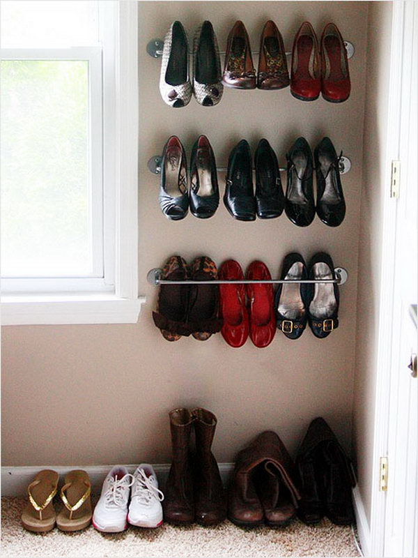 Towel Bar for Shoes Storage,