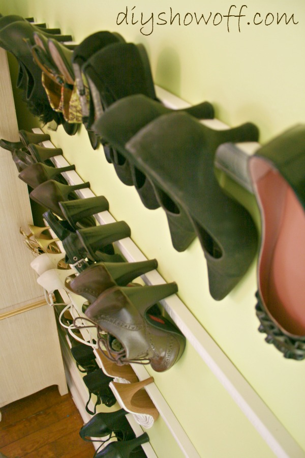 Decorative Molding for Shoes Storage,